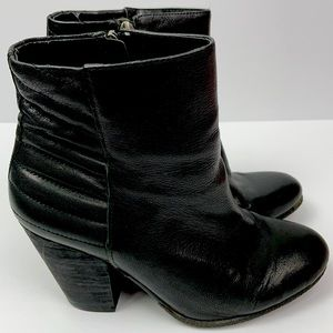 Vince Camuto booties boots leather!